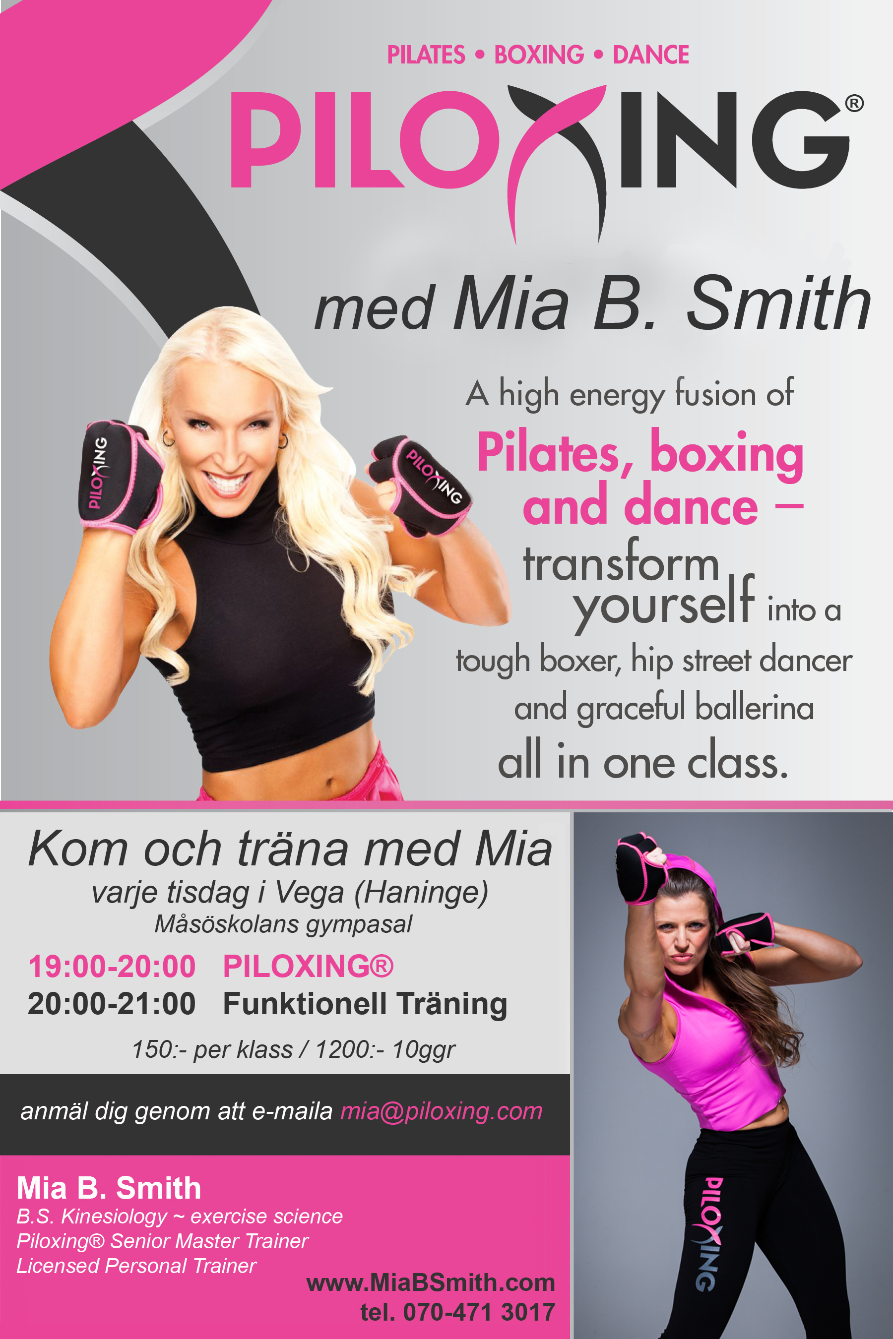 Piloxing master class with mia london uk monday january 27th active mc xflitez Image collections